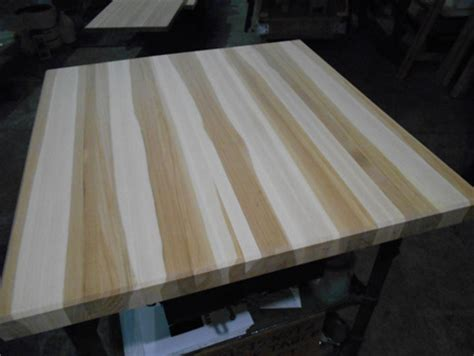 photo gallery production pictures of butcher block countertops stair treads and other wood