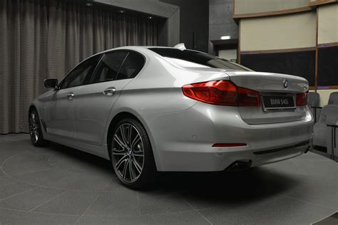 bmw sport line all new bmw 540i on display in sport line trim carscoops