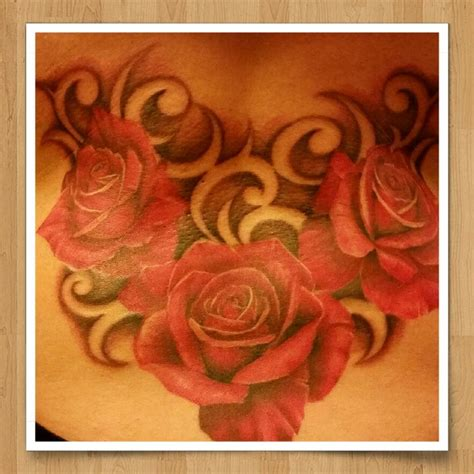 negative space rose tattoo 25 best ideas about back tattoos on