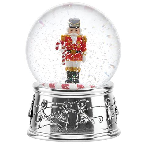 reed and barton nutcracker snow globe reed and barton