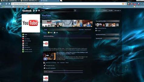 Facebook Themes En Skins | top ten collection top 10 facebook themes skins 2013 for