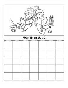 Education Calendar Template by Education World June Calendar Template Summer