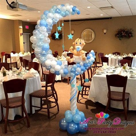 Moon And Baby Shower Ideas by Moon And Balloon Sculpture Great For A Twinkle