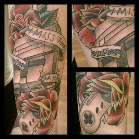 nintendo tattoo awesome nintendo pic global news