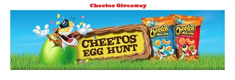 Free Hunt Giveaways - cheetos easter egg hunt giveaway 740 high value prizes