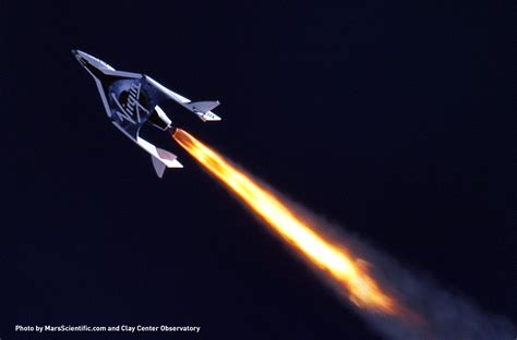 V Ii Virginal galactic successful test of spaceshiptwo space plane