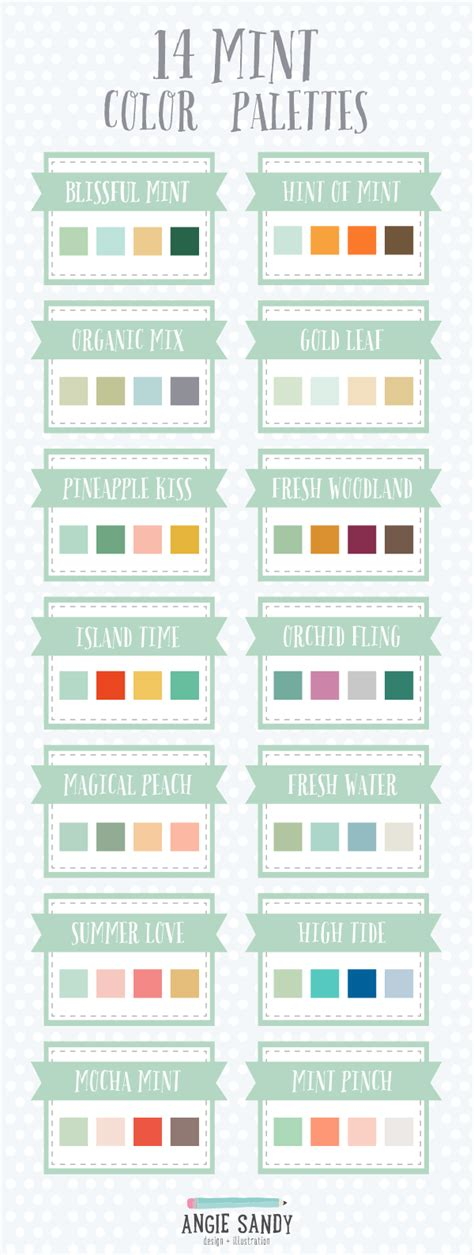 mint paint color 14 mint color palettes color schemes mint