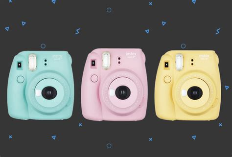 Camera Giveaway 2016 - giveaway win these pastel polaroid cameras