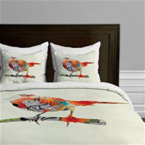 bird design quilt cover amazon com deny designs iveta abolina little bird duvet
