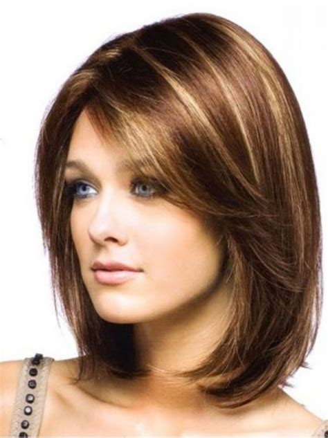 hairstyles for medium length hair on women in their 40s pictures of medium length hair cuts hairstyle for women