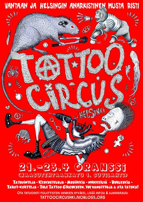 london abc at tattoo circus anarchist black cross a prisoner support