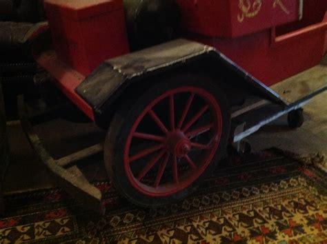 antique amusement park allen herschell model  car