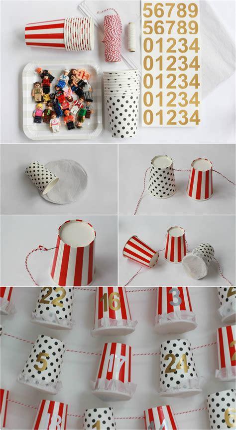 easy to make advent calendar for diy advent calendar tutorial paper cup advent pretty