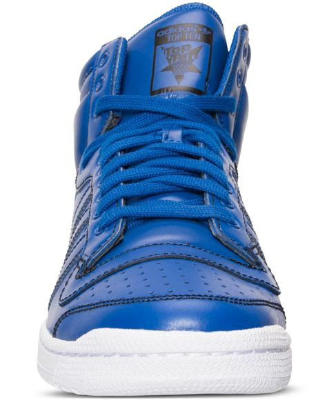 adidas originals s top ten hi casual sneakers from finish line for lyst