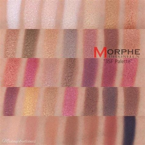 100 Original Morphe 25a Copper Spice Eyeshadow Palette morphe 35 f fall into reviews photos makeupalley
