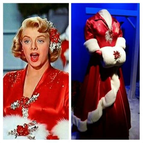 rosemary clooney white christmas red dress 118 best images about a bing crosby christmas on