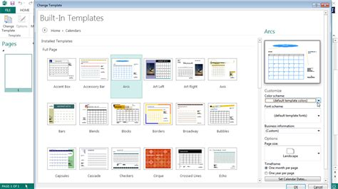 publisher 2013 templates change templates in publisher 2013 tutorial