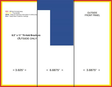 triathlon template free tri fold brochure