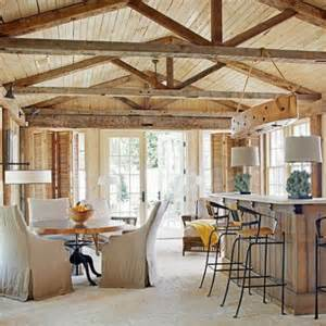 kitchen designs with wooden beams comfydwelling