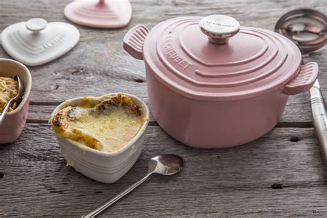 Le Creuset Giveaway - le creuset sugar pink heart cocotte giveaway jelly toast