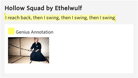 meaning of swing shift i reach back then i swing then i swing then i swing