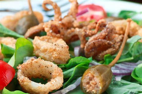 fried calamari salad recipe fried calamari salad villeroy boch blog