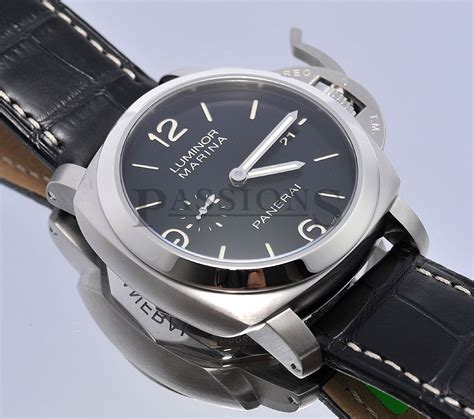 rrc panerai pam312 black panerai 44mm quot luminor marina 1950 3 days quot pam312 auto date