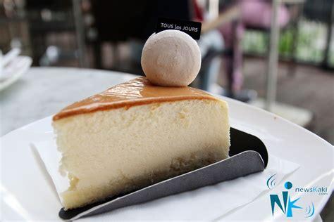 Velvet Cake Tous Les Jours tous les jours wolo bukit bintang 来自星星的面包店 newskaki
