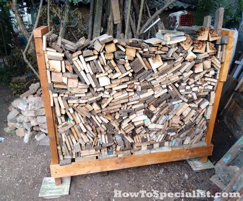 How To Make A Firewood Rack by How To Build A Firewood Rack Howtospecialist How To
