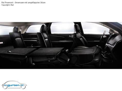Schnellstes Auto Mit 4 Sitzen by Foto Bild Fiat Freemont Innenraum Mit Umgeklappten