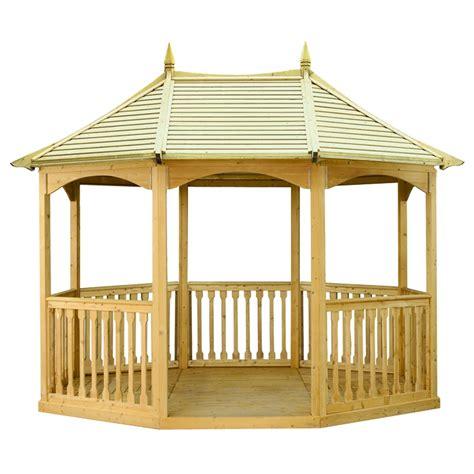 gazebo in legno da giardino gazebo da giardino in legno brompton pavilion arredo
