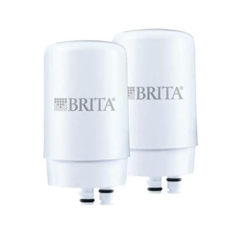 brita faucet mount replacement water filters 2 pack