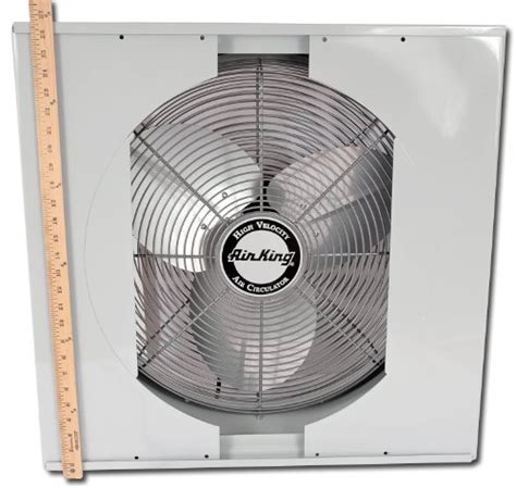 whole house window fan airking 9166 20 quot whole house window fan