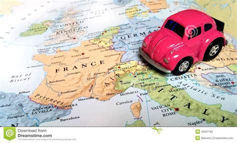 Mit Dem Auto Nach Frankreich by Reise Europa Italien Frankreich Stockfoto Bild 49297162