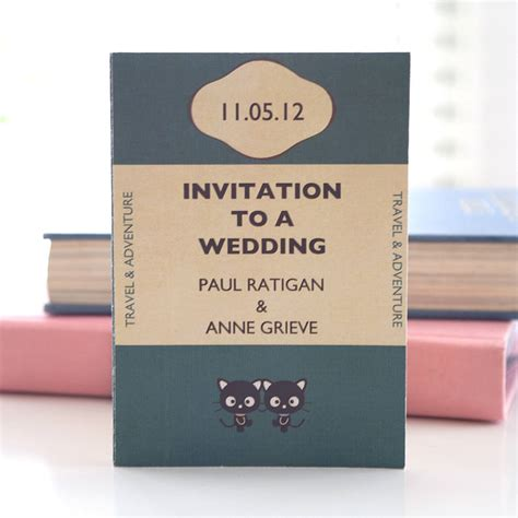 book themed wedding invitations best selection of book themed wedding invitations