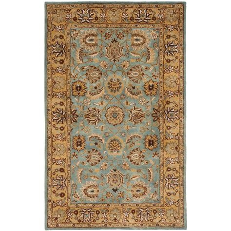 5 ft area rugs safavieh heritage blue gold 5 ft x 8 ft area rug hg958a 5 the home depot