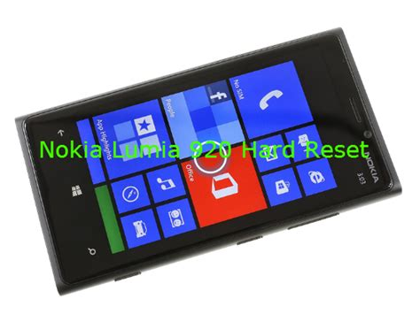 resetting my nokia lumia 920 nokia lumia 920 hard reset windows phone destek