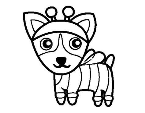 dibujos de perros para colorear dibujosnet dibujo de perro abeja para colorear dibujos net