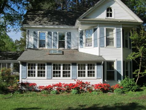 What Color Should I Paint My Shutters exterior renovation ideas for victorian farmhouse