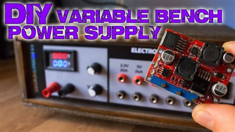 bench power supply diy diy variable bench power supply less than 10 youtube