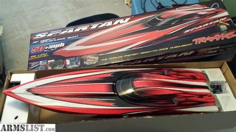 rc boats spartan armslist for sale rc boat traxxas spartan