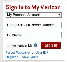 verizon home login how to stop verizon from selling your information to marketers