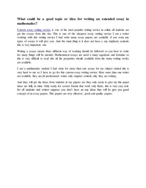 math thesis ideas mathematics essay writing mathematics essay writing