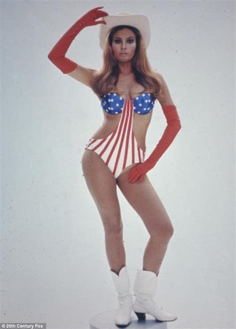 i like sexy women 3 2015 movie raquel welch in a flag bathing suit by godzilla713 on