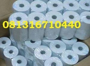 Kertas Kasir 57x50 Kertas Thermal Paper E Print 57 X 50 Mm kertas thermal atm edc kasir parkir mega makmur