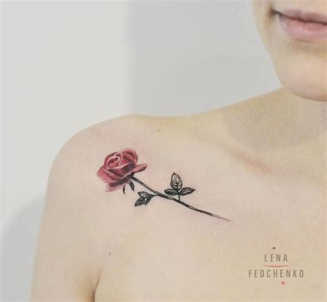little rose tattoo inkstylemag