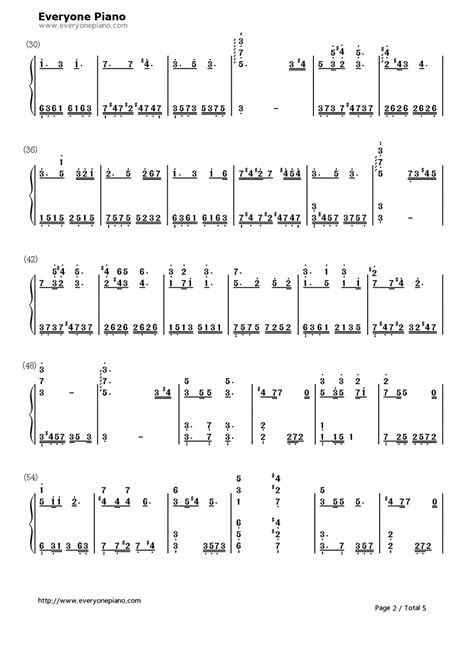 jay chou chord nocturne jay chou numbered musical notation preview 2