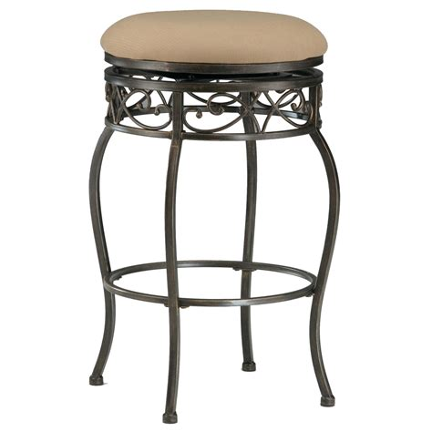 backless black swivel bar stools hillsdale backless bar stools 4336 827 26 quot backless