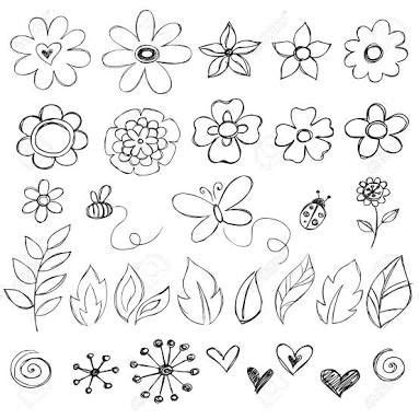 how to draw doodle for how to draw flower doodle search doodle