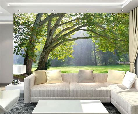 home decor wall murals 3d forest wall murals wallpaper decal decor home nursery mural ebay